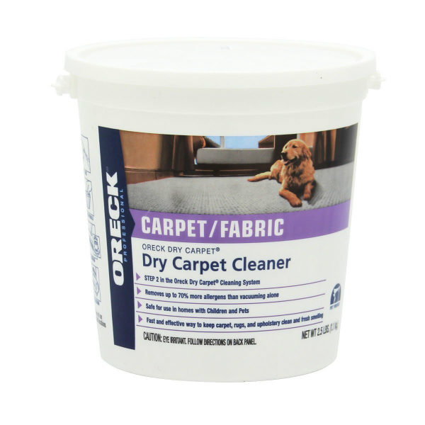 Oreck Dry Carpet Cleaner